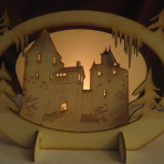 Castell Coch Candle Holder