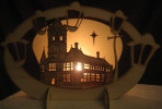 Pierhead Building Candle Holder