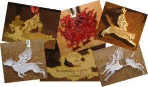 Animal Angel Christmas decorations