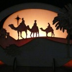 Three Kings  Candle Holder