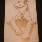 Stone Lioness Postcard