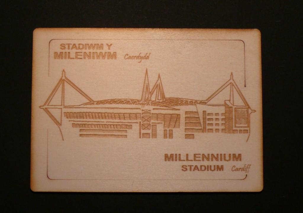 Millennium Stadium Postcard Woodwasp