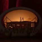 Millennium Stadium Candle Holder
