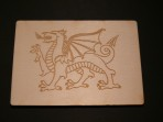 Ddraig Goch / Red Dragon of Wales Postcard