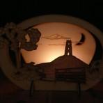 Glastonbury Tor Candle Holder