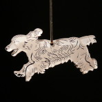 Acrylic Cocker Spaniel ornament