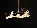 Acrylic Cavalier King Charles Spaniel ornament