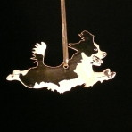 Acrylic Springer Spaniel Ornament