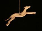 Acrylic Greyhound ornament