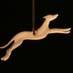 Acrylic Greyhound ornament