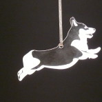 Acrylic Corgi Ornament