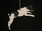 Acrylic Jack Russel Terrier ornament
