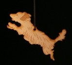 Wooden terrier ornament – 'Jack'