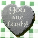 'Lush' coaster