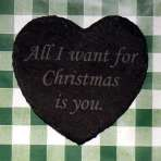 'All I want for Christmas is you' coaster