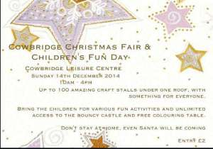 Cowbridge Christmas Fair flyer