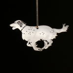 Acrylic English Setter ornament