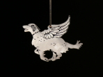 Acrylic Winged English Setter ornament