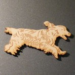 Cocker Spaniel Fridge Magnet