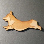 Corgi Fridge Magnet