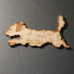 'Jack' Terrier Fridge Magnet