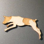 Jack Russel Fridge Magnet