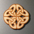 Celtic Knot Fridge Magnet