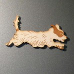'Patch' Terrier Fridge Magnet