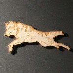 Wolf Fridge Magnet
