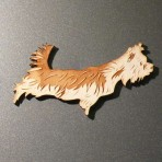Yorkshire Terrier Fridge Magnet