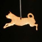 Wooden Rottweiler ornament