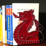 Pair of Dragon Bookends