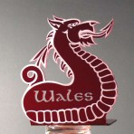 'Wales' Bookend